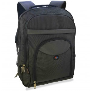 My Pac Ultra Trendy 17.3 inch Laptop backpack for men black  C11587-1