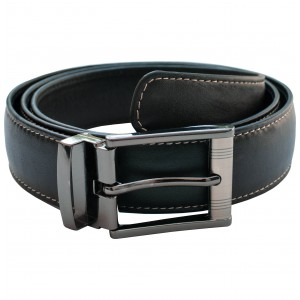 arpera Leather mens Belt Black C11569-1S