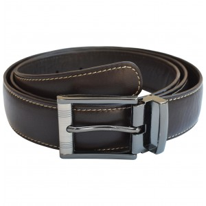 arpera Leather mens Belt Brown C11569-2S