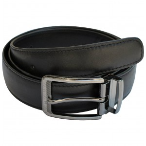 arpera Leather mens Belt Black C11570-1S