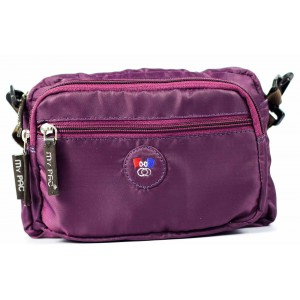 mypac-ViVaa Polyester Sling bag purple C11542-71