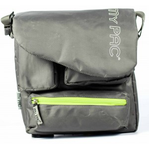 my pac-ViVaa Polyester messenger waterproof Sling bag grey C11544-26