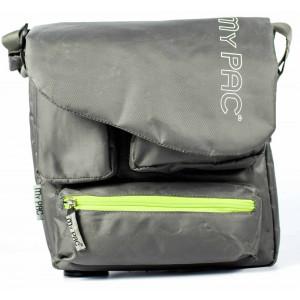4619205edfc my pac-ViVaa Polyester messenger waterproof Sling bag grey C11544-26
