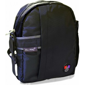 my pac ViVaa unisex waterproof Sling bag BLACK C11593-1