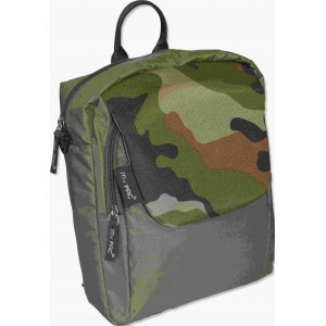 my pac ViVaa unisex waterproof mini backpack and sling bag Military Khaki C11594-22