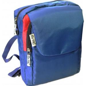 my pac ViVaa unisex waterproof mini backpack and sling bag blue C11594-53