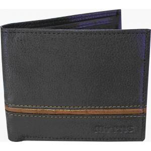 my pac db Vogue Rfid protected genuine leather  wallet Black -Tan C11595-121L