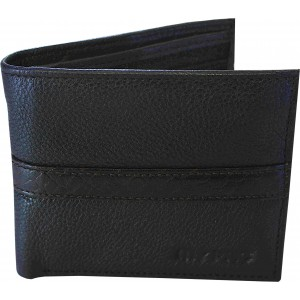 my pac db Vogue Rfid protected genuine leather  wallet Black -Brown C11596-12S