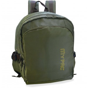 My Pac Ultra Trendy 15 inch Laptop backpack for men khaki C11590-12 fd0d3e5c44abf