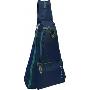 my pac db Vivaa waterproof backpack for boys Blue C11600-5