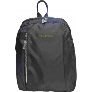 my pac db Vivaa  C11601-1 Black 15 L backpack for 13 inch laptops Chromebooks & Ultrabooks &  Macbook/College bag/Office Bag