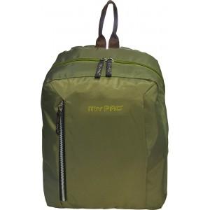 my pac db Vivaa C11601-2  khaki 15 L backpack for 13 inch laptops Chromebooks & Ultrabooks &  Macbook/College bag/Office Bag