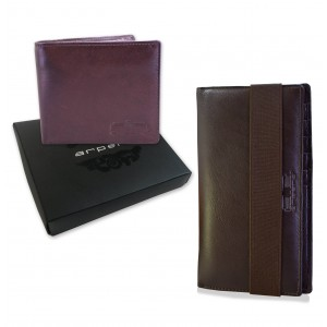 Arpera Leather Corporate gift combo for men CB16003