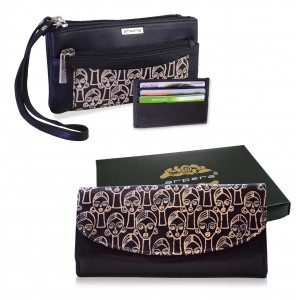 Arpera Leather Clutch gift combo for women CB16013