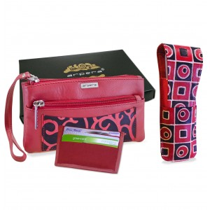 Arpera Leather Clutch gift combo for women CB16015