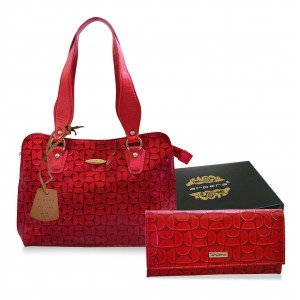Arpera Leather Handbag gift combo for women CB16020