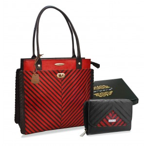 Arpera Leather Handbag gift combo for  women CB16027