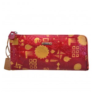 arpera  | Leather clutch | C11359-3A | Red
