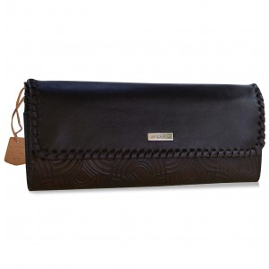 arpera | Leather Clutch | arp202-2B| Brown