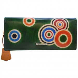 arpera  | Leather Purse | C11435-6A | Green