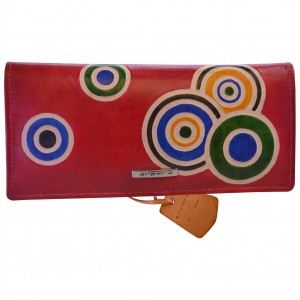 arpera  | Leather Purse | C11435-3A | Red