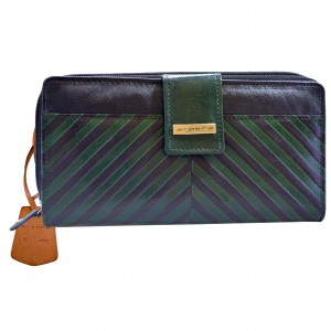 arpera  | Leather Purse | C11244-6A | Green