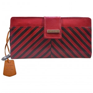 arpera  | Leather Purse | C11244-3A | Red