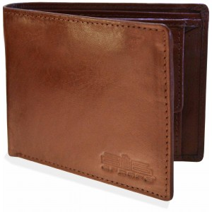 arpera Tan Brown Genuine Leather Mens Wallet C11439-21