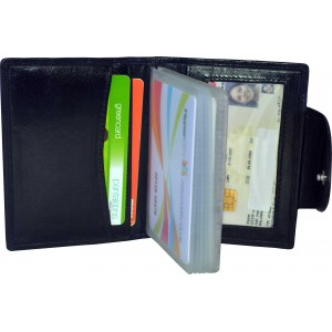 arpera | Leather Card Holder | C11426-1 | Black