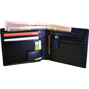 arpera-Black-Genuine Leather-Mens-Wallet-with hidden Compartment-C11428-1