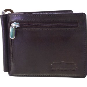 arpera Genuine leather mens money clip C11476-2