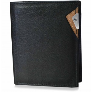 my pac cruise Slim Genuine Leather wallet  Black  C11529-2