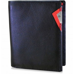 my pac cruise Slim Genuine Leather wallet  Black  C11529-3
