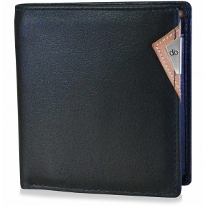my pac cruise Genuine Leather secure wallet  Black  C11530-2