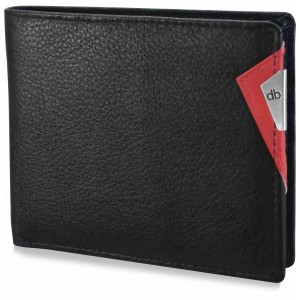 My pac Cruise Slim Genuine Leather travel wallet Black  C11531-3