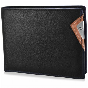 My pac cruise Genuine Leather wallet with cardholder Black  C11532-2