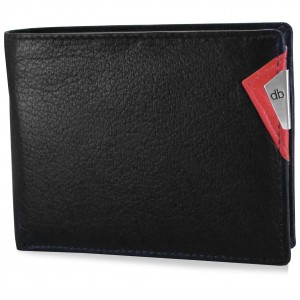 My pac cruise Genuine Leather wallet with cardholder  Black  C11532-3