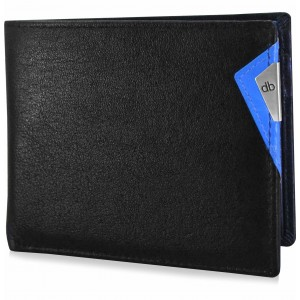 My pac cruise Genuine Leather wallet with cardholder  Black  C11532-5