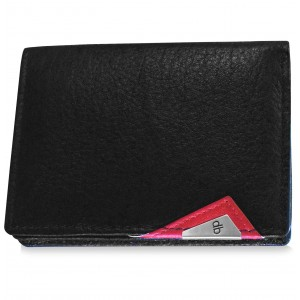 my pac cruise Genuine Leather Slim Card Holder  Black C11533-3
