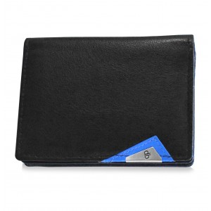 my pac cruise Genuine Leather Slim Card Holder  Black    C11533-5