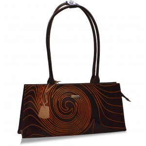 arpera Brown Galaxy  handbag C11447-2B