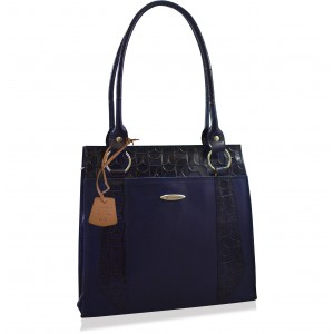 arpera midnight blue Genuine Leather Shoulder Bag  C11520-7A