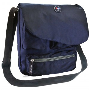 my pac-ViVaa  messenger Sling bag black C11544-1