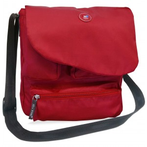 my pac-ViVaa  messenger Sling bag red C11544-3