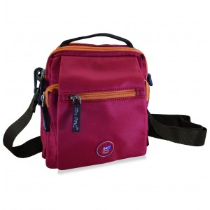 my pac ViVaa unisex waterproof Sling bag Red C11550-3