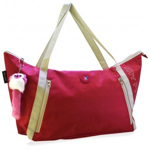 my pac Vivaa polyster  red tote C11571-3
