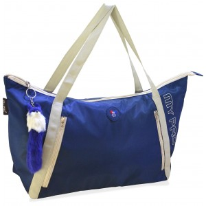 my pac Vivaa polyster blue tote C11571-5