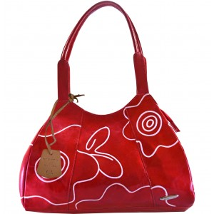 Arpera red signature handbag C11446-3A