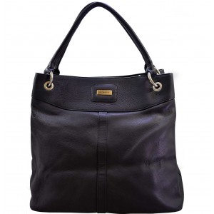 arpera weave Hobo Genuine Leather handbag  |black |lb025-bk-spiral weave