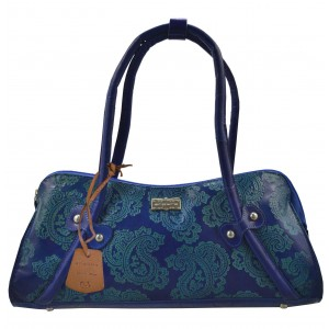 arpera | Leather Handbag | C11331-5 | Blue